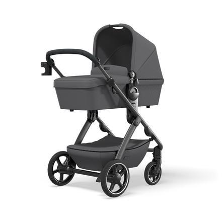 MOON Combi barnevogn N ° ONE grå / antracitkollektion 2021