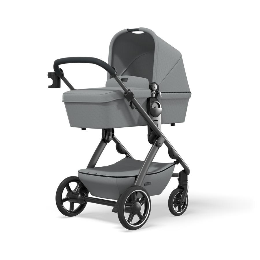 MOON Combi-kinderwagen N°ONE Grey/ Stone Collectie 2021