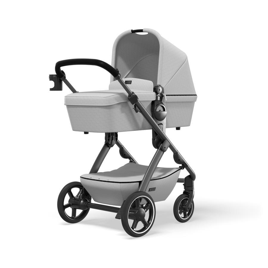 MOON Carro de bebé combi N°ONE Grey/Ice Colección 2021