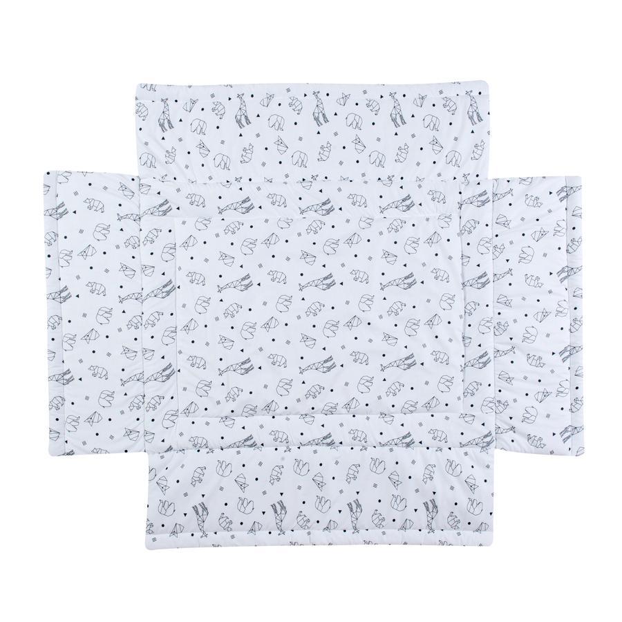 Schardt Tour de parc bébé Origami Black 75x100 cm