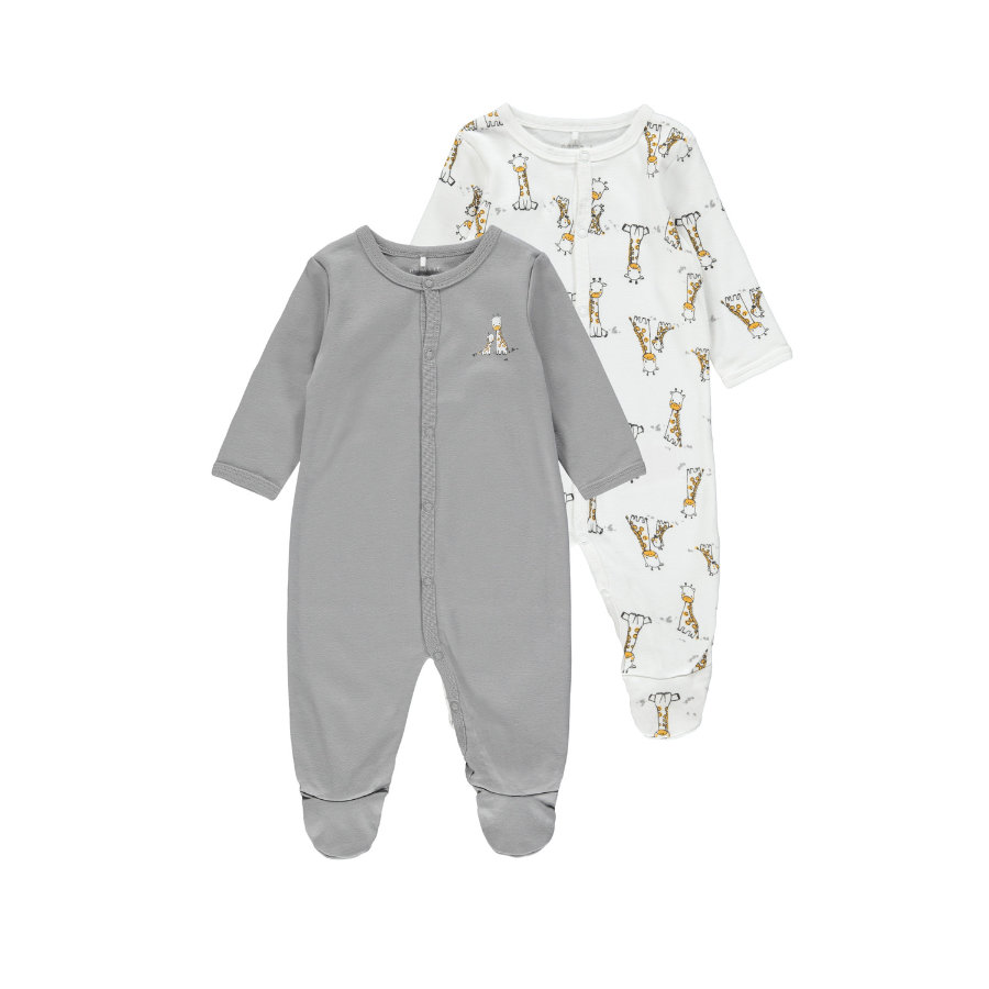 name it Sleeping overall 2-pack Alloy Giraffe