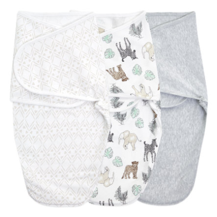 aden + anais™ essentials easy swaddle™ Wickel-Pucktuch 3er-Pack toile 0-3 Monate