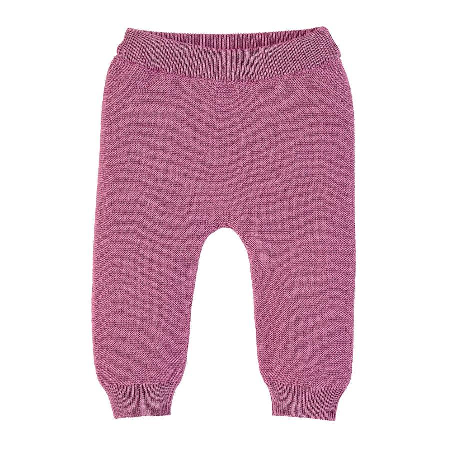 Sterntaler pletené kalhoty světle fialové