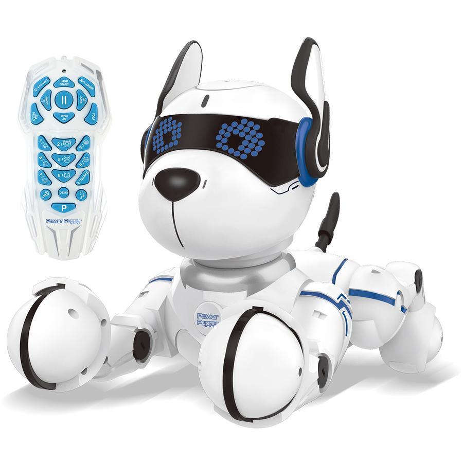 LEXIBOOK Power Puppy - Mein programmierbarer Lernroboter mit Fernsteuerung