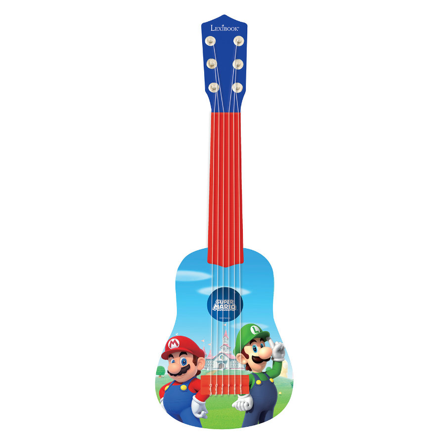 LEXIBOOK Guitare enfant ma première guitare Nintendo Super Mario
