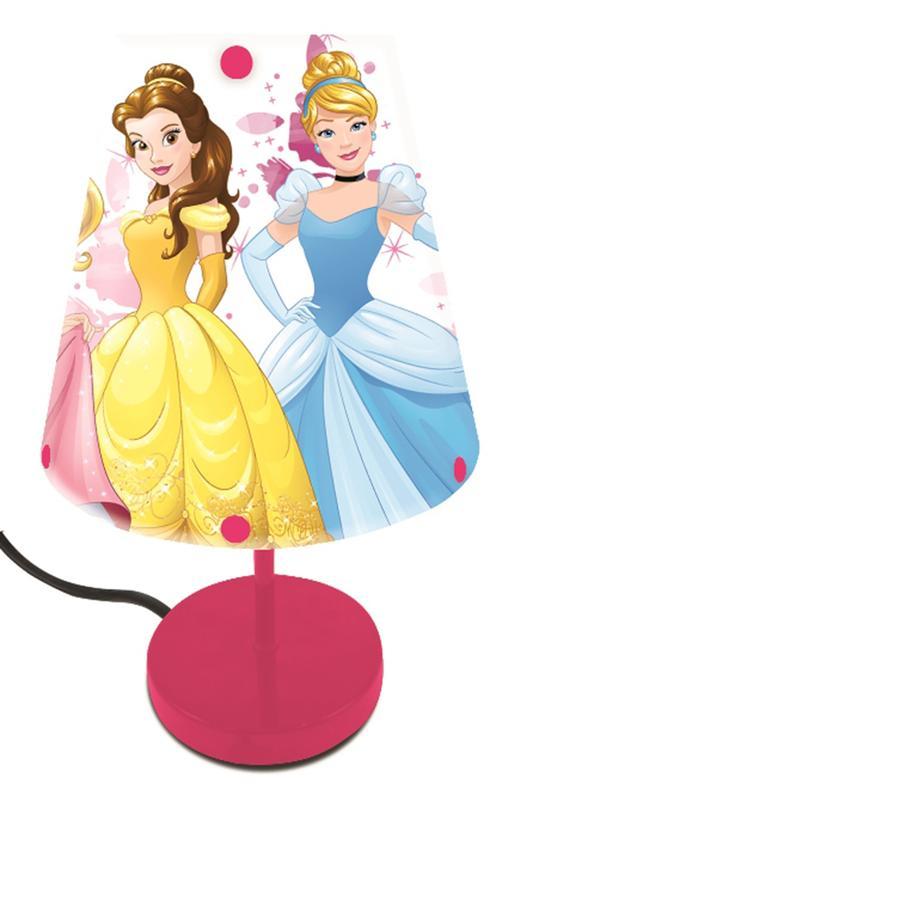 LEXIBOOK Lampe de chevet enfant Disney princesse