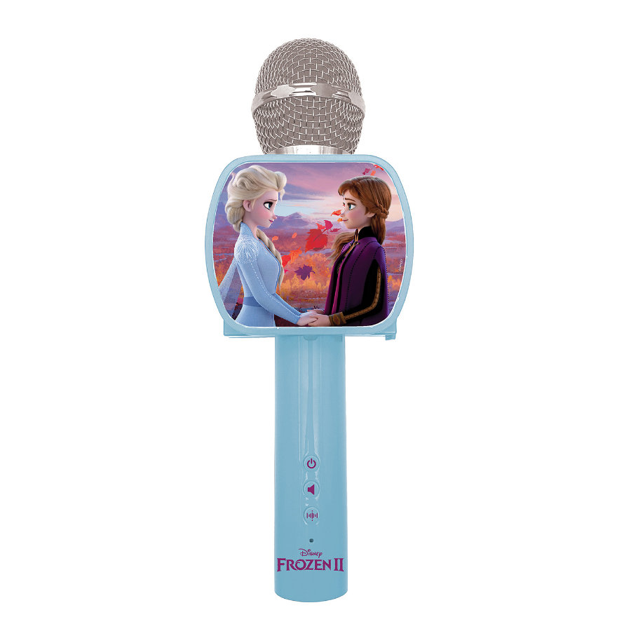 LEXIBOOK Disney The Ice Queen 2 Mikrofon Bluetooth z głosem Change r Funkcja