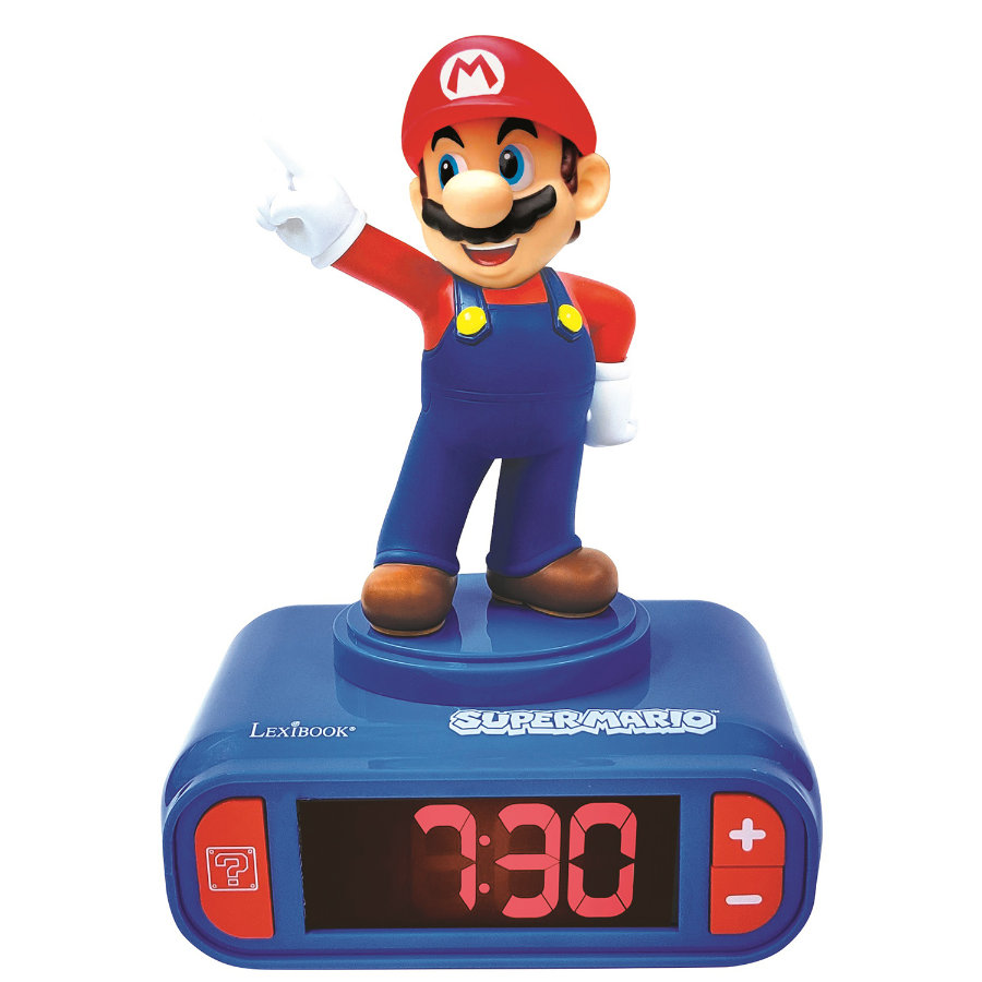 LEXIBOOK Nintendo Super Mario Wecker