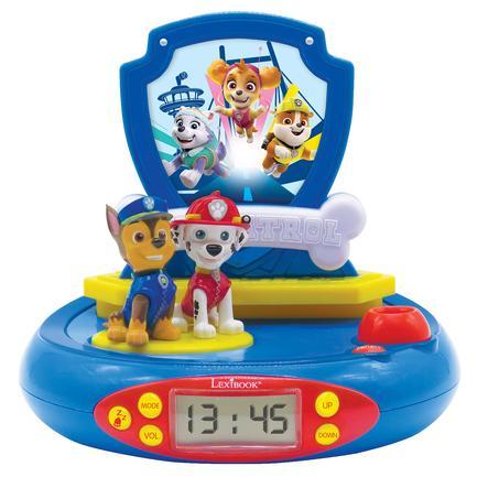 LEXIBOOK Paw Patrol Projection Alarm Clock