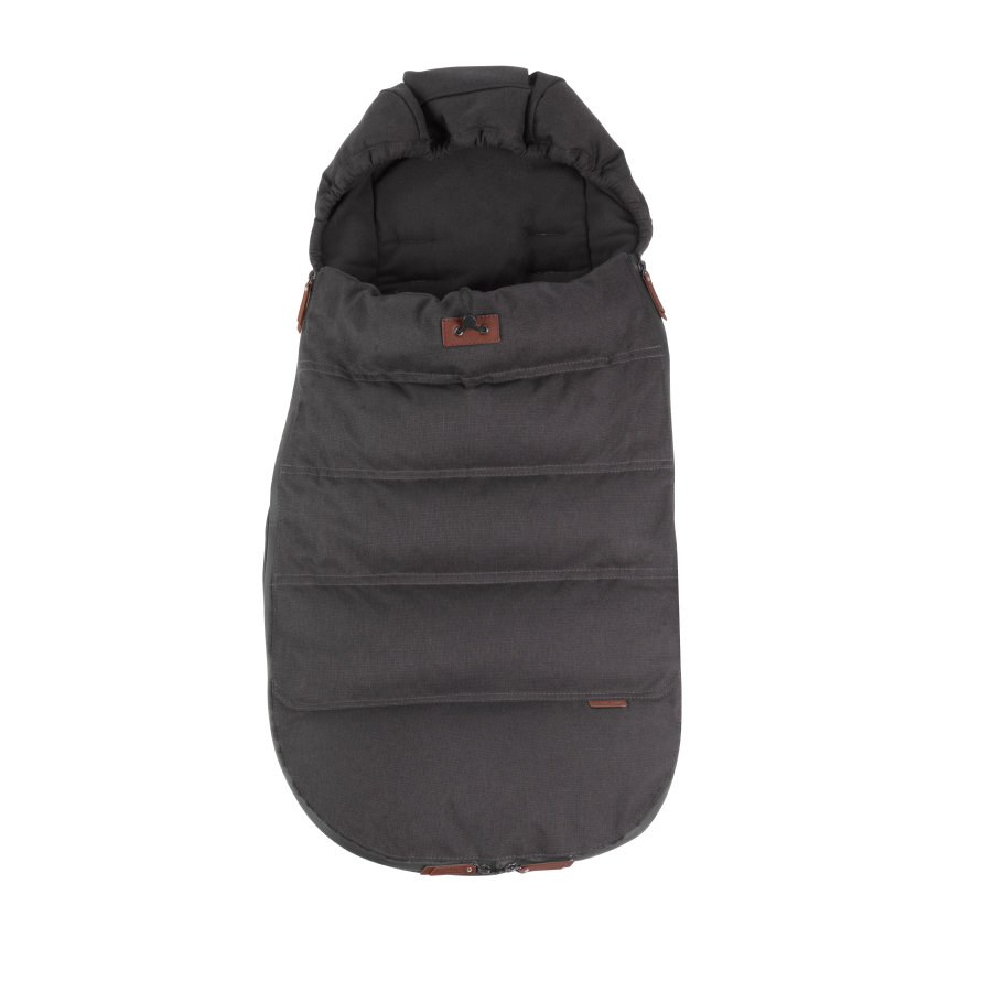 Silver Cross Fußsack Wave Charcoal