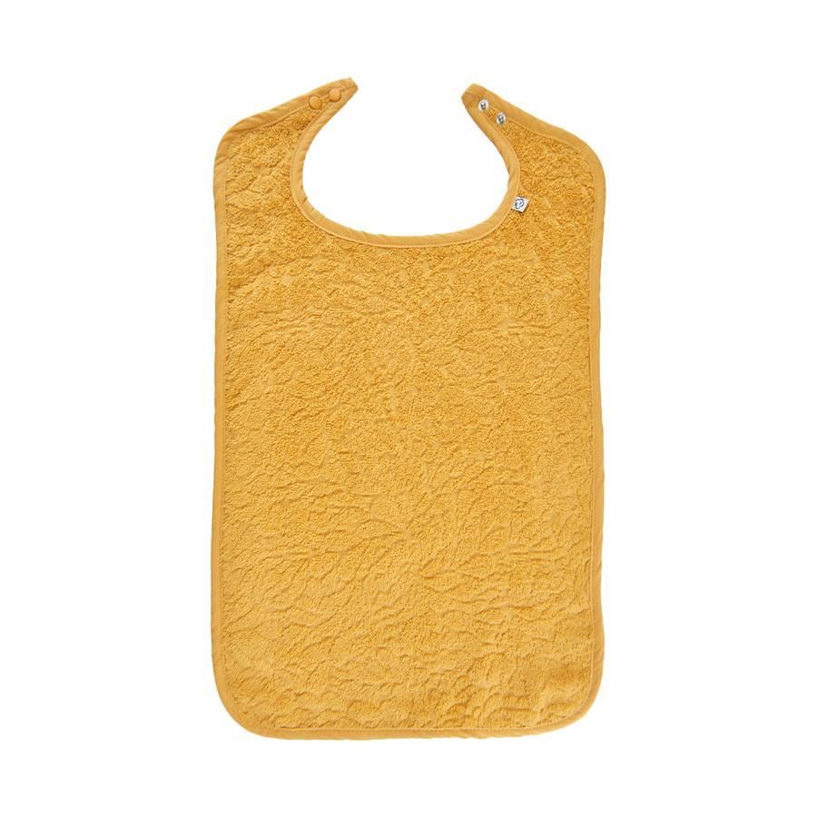 Pippi Frottee Lätzchen mineral yellow