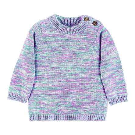 Sterntaler Dziany sweter w kolorze jasnofioletowym