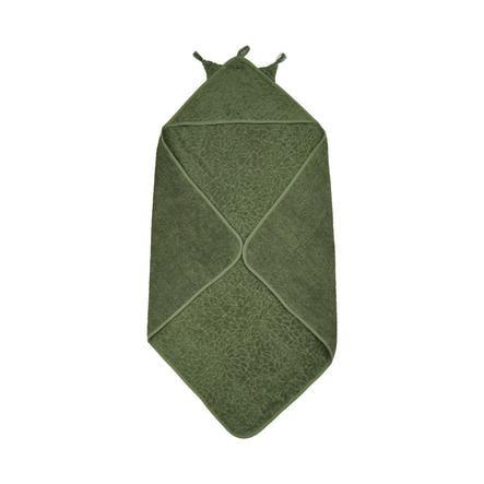 Pippi Kapuzenhandtuch Deep Lichen Green 83 x 83 cm