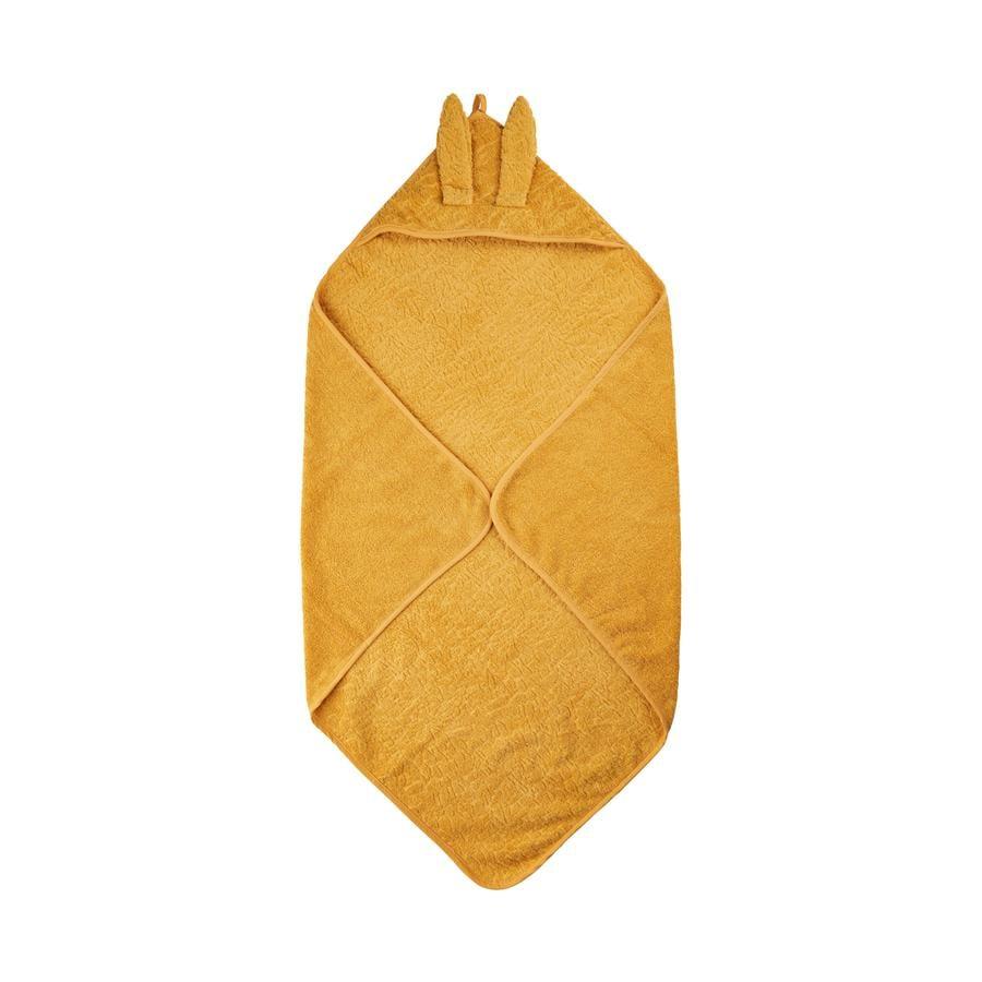 Pippi Serviette à capuche Minéral Yellow 83 x 83 cm