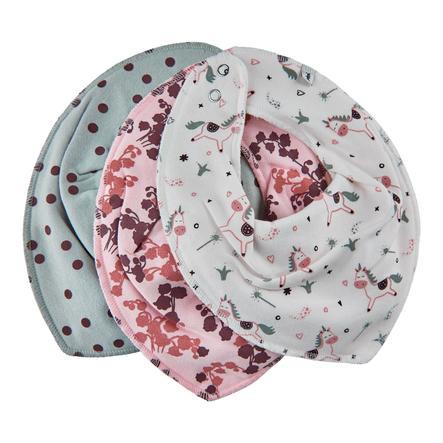 Pippi Bandana 3-pack rose