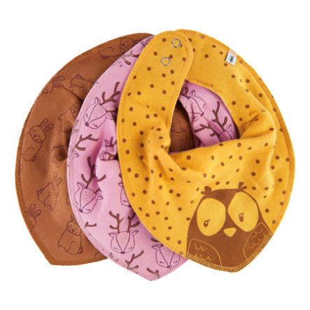 Pippi Paquete de 3 bandanas de bronceado indio