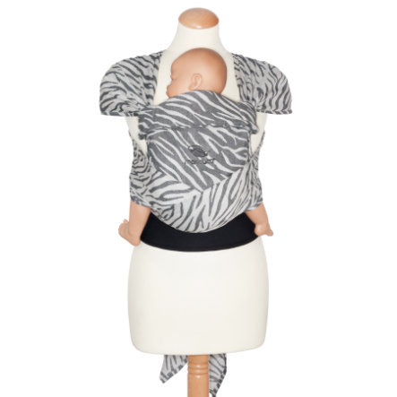 manduca Porte-bébé ventral dorsal Twist Long édition limitée Zebra