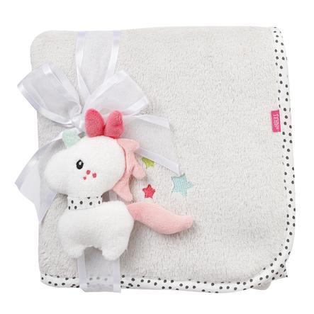 fehn plyšová deka jednorožec Aiko & Yuki