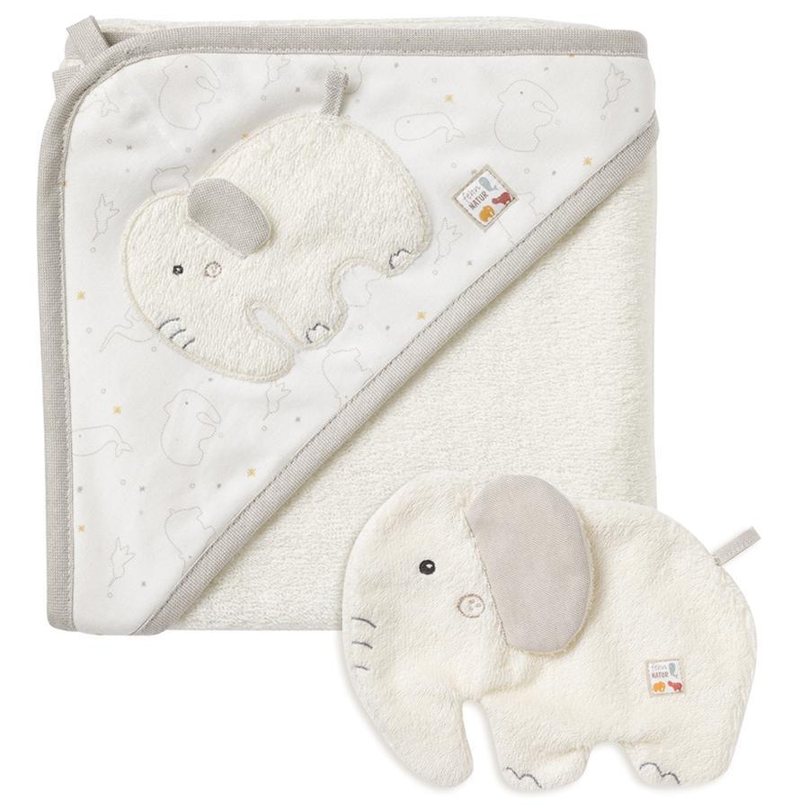 fehn® Bade-Set Elefant fehnNATUR