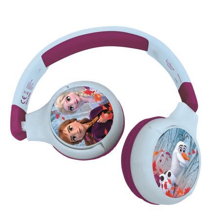 LEXIBOOK Disney Frozen 2-i-1 Bluetooth-hörlurar för barn med inbyggd mikrofon