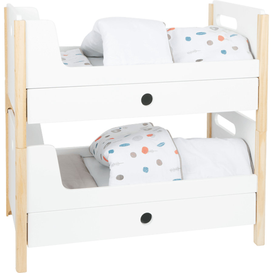 """small foot  ® Doll's loft bed """" Little Button"""""""