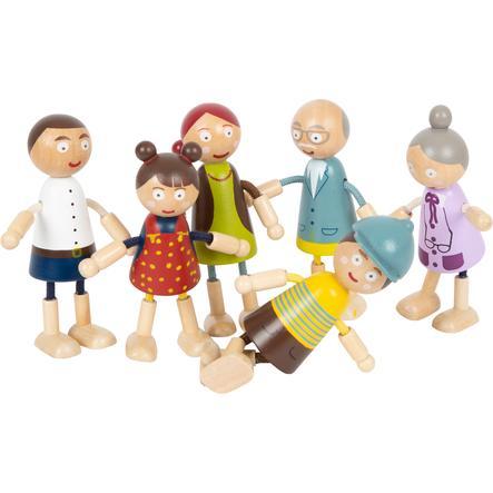 small foot  ® Buig poppen familie van hout