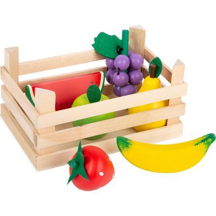 small foot® Kaufladen-Obst mit Kiste