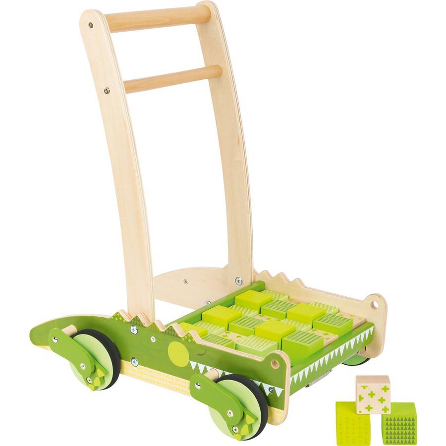 small foot® Lauflernwagen Krokodil