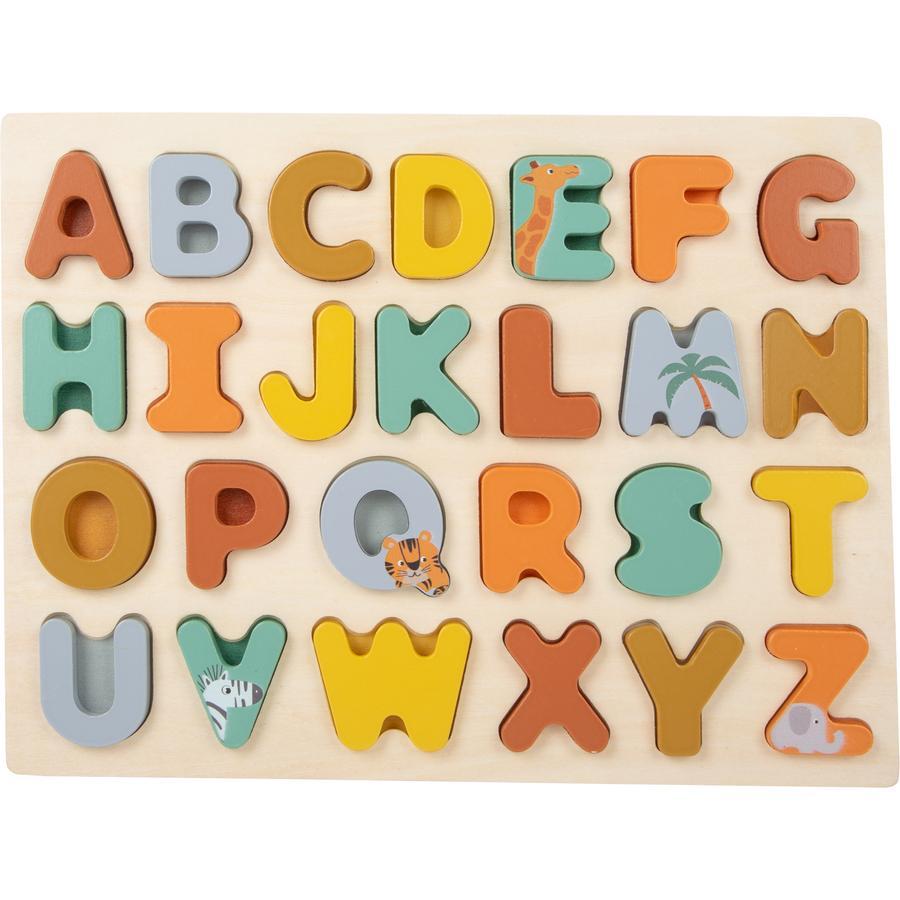 small foot  puzzle de l'ABC Safari