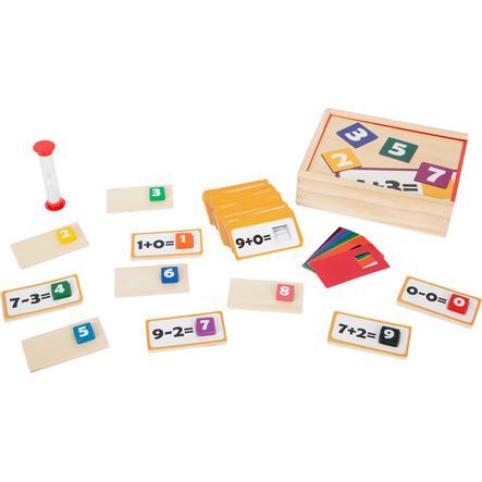 small foot  ® Jeu éducatif puzzle en bois mathématique