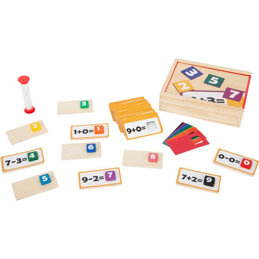 small foot  ® educativo gioco di legno puzzle matematica