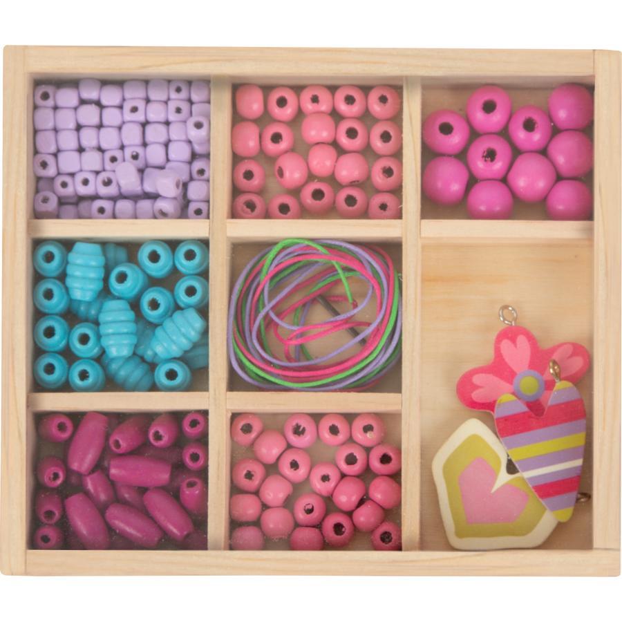 small foot  Set d'enfilage de perles artisanales compactes