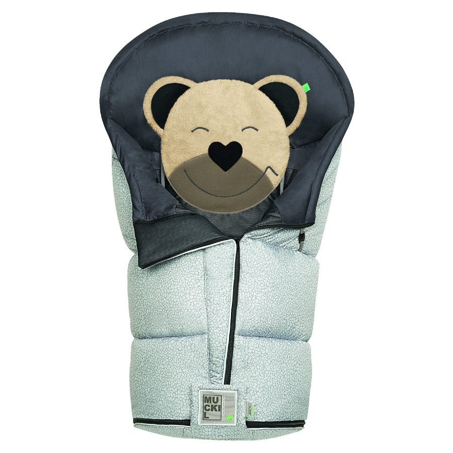 odenwälder Footmuff Mucki L fashion pebble s steel