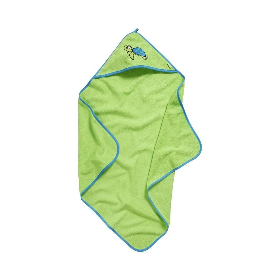 Playshoes Terry hætteklæde S barn tudse grøn