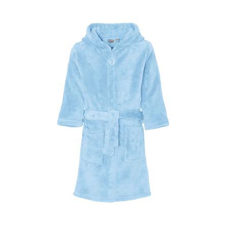Playshoes  Peignoir polaire uni bleu