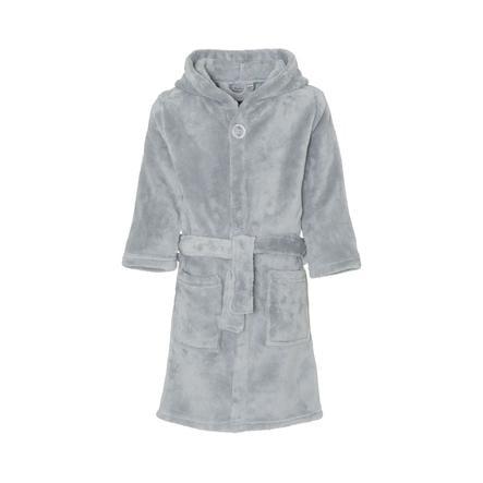 Playshoes Fleece-badekåbe uni grå