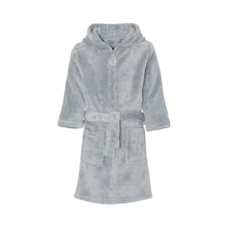 Playshoes Fleece-badekåpe uni grå