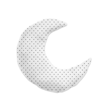 joyfill Stillkissen Luna Sternchen grau 150 cm