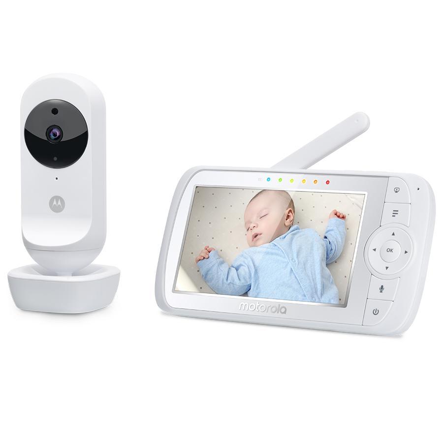 Motorola Wideo-monitor dla niemowląt EASE35 z 5,0-calowym kolorowym wyświetlaczem LCD