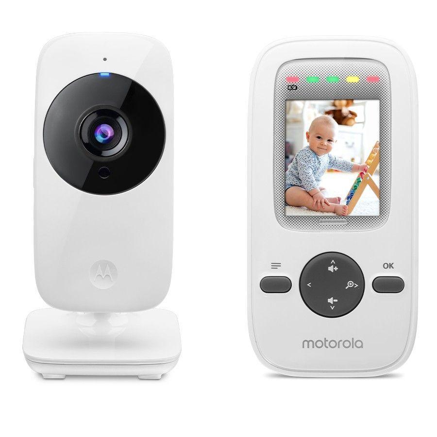 """""""Motorola Video babyarlam MBP481 med 2,0 """"""""LCD-farvedisplay"""""""