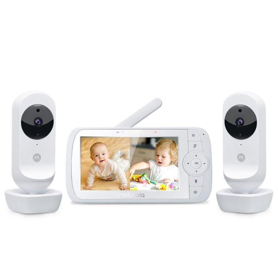 "Motorola Video chůvička EASE35 Twin s 5,0"" barevným displejem LCD"
