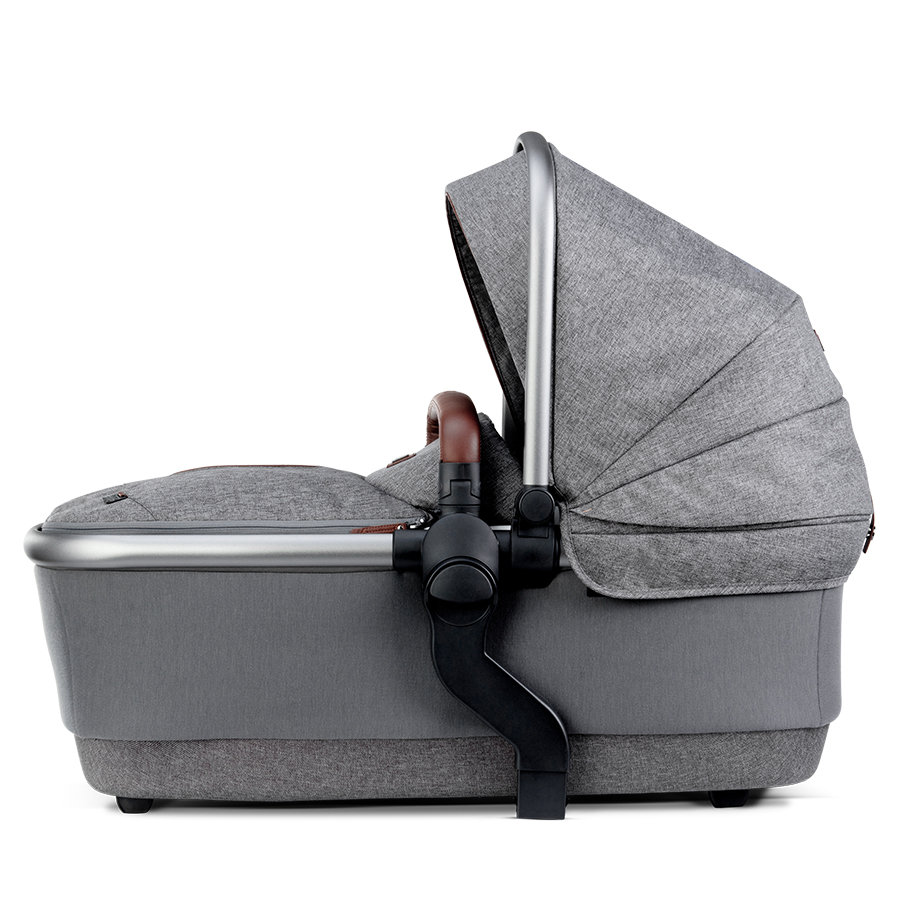 Silver Cross Carrycot Wave Zink Grey