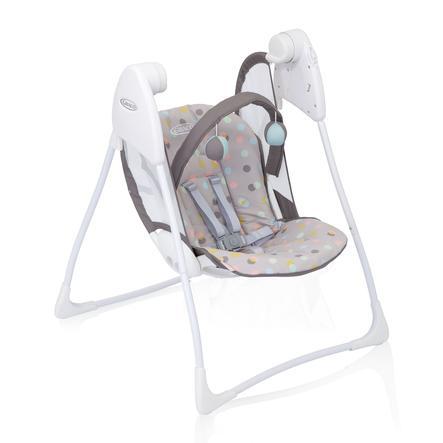 Graco® Babyschaukel Baby Delight™ Confetti Grey