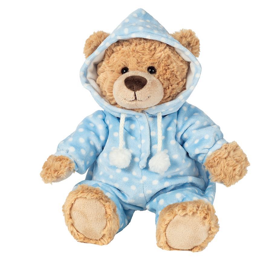 Teddy HERMANN ® pyjamabeer blauw 30 cm