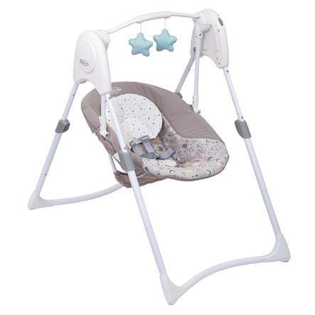 Graco® Transat balancelle bébé Slim Spaces™ Daydream