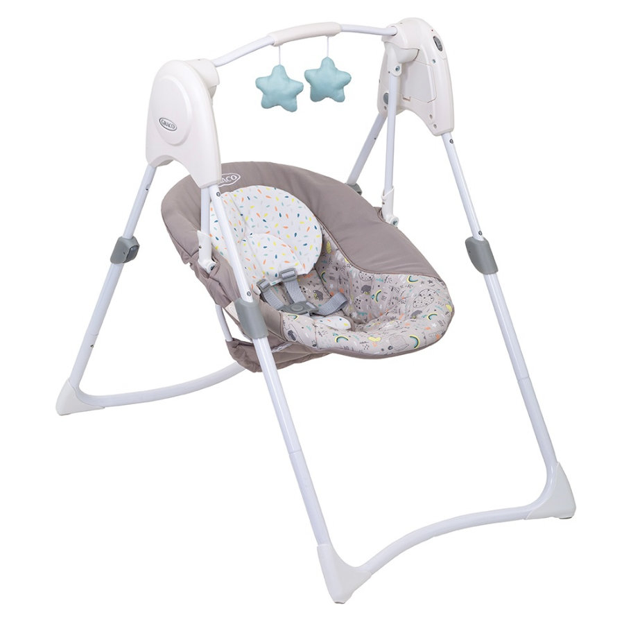Graco ® Baby Swing Slim Space s™ Day dream