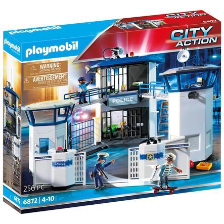 PLAYMOBIL® City Action Polis Kommandocentral med fängelse 6872