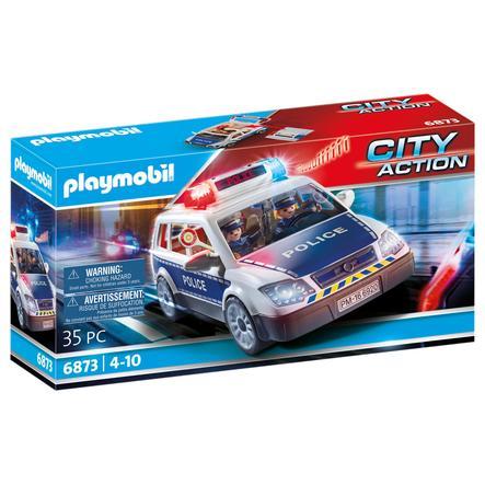 PLAYMOBIL® City Action Policejní auto s majákem 6873