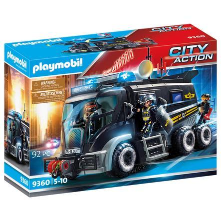 PLAYMOBIL® CITY ACTION SEK-Truck mit Licht und Sound 9360
