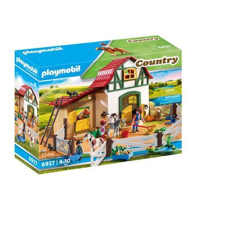 PLAYMOBIL® Country - Hestestald med gård 6927